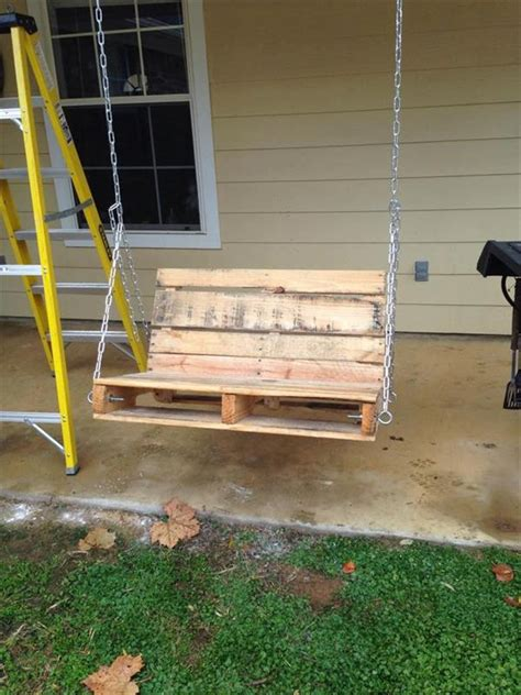 how to make a pallet swing upcycled pallet swing pallet furniture plans
