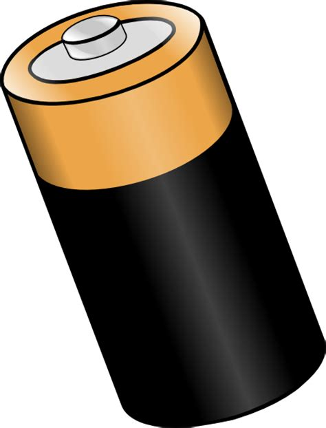 Batteries Clipart bigger battery clip at clker vector clip royalty free domain