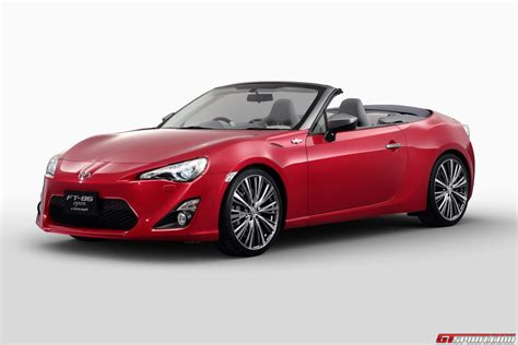 When Was Toyota Created Toyota Could Create Gt86 Convertible Without Help Of