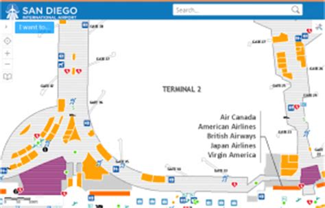 san diego airport map airports northsouth gis