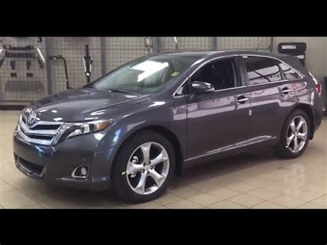 toyota venza limited review youtube