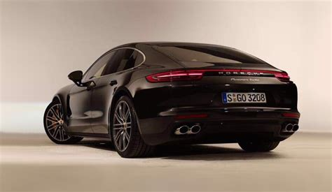 porsche panamera turbo 2016 2017 porsche panamera turbo revealed in leaked images