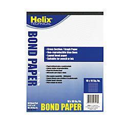helix 8 12 x 11 10 x 10 cross section bond paper by office