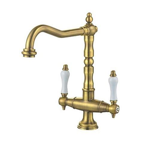 lavello antico rubinetto miscelatore per lavello cucina finitura ottone