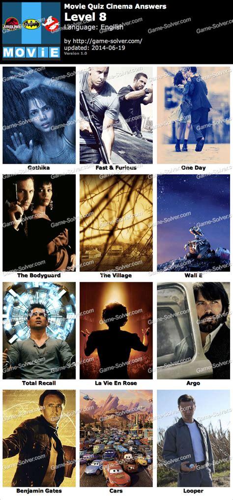 film quiz level 25 movie quiz cinema level 8 game solver
