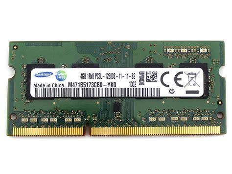 Laptop Samsung Ram 4gb samsung ddr3 4gb 1rx8 pc3l 12800s 11 11 b2 ddr3 sodimm