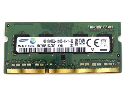 Laptop Samsung Ram 4gb samsung ddr3 4gb 1rx8 pc3l 12800s 11 11 b2 ddr3 sodimm laptop memory ram 1600mhz ebay