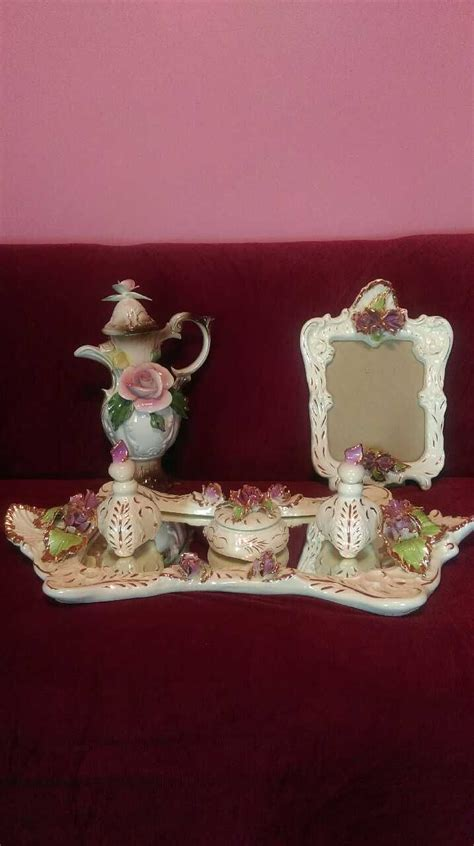 Capodimonte Set 3 17 best images about everything capodimonte on antiques porcelain vase and auction