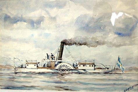 barco a vapor informe flotademar