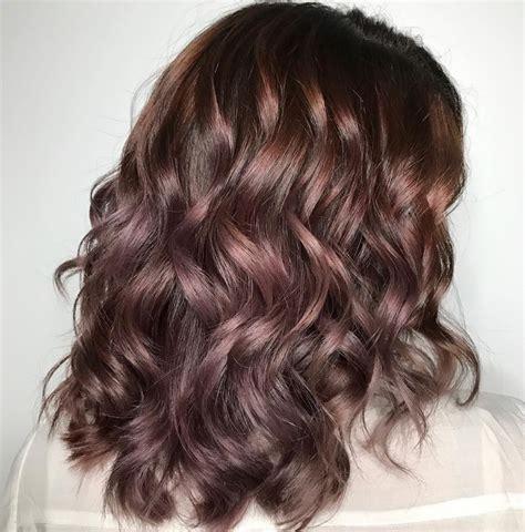 mauve hair color chocolate mauve hair autumn s new colour trend