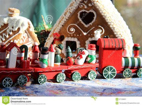 imagenes de navidad tren casas dulces cocidas al horno la navidad y tren rojo