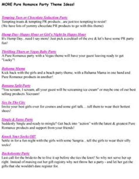 party themes for pure romance 1000 images about pure romance on pinterest pure