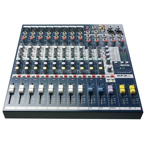 Mixer Soundcraft Efx8 Soundcraft Efx8 Multi Purpose Mixer With Lexicon Effects