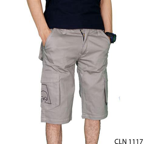 Celana Chino Abu celana cargo pendek chino abu cln 1117 gudang fashion
