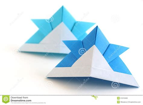 Ancient Japanese Origami - origami kabuto stock photo image 51310493