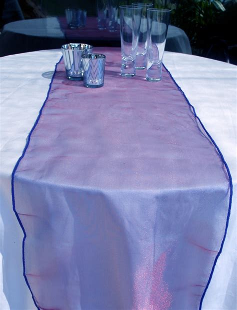 Purple Table Runners by Organza Table Runner Purple