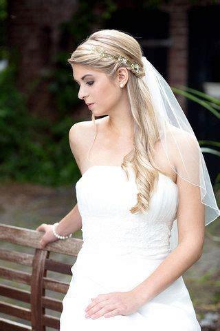 Brautfrisuren Lange Haare Halboffen Mit Schleier by Brautfrisuren Mit Schleier Offene Haare