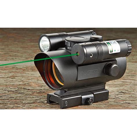 red dot laser light combo vism red dot flashlight combo 222531 red dot sights