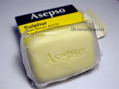Sabun Asepso how to get rid of acne 1 review of asepso sulphur plus