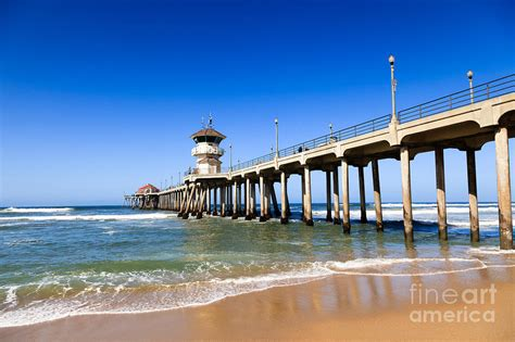 tattoo gallery in huntington beach huntington beach pier in southern california photograph by