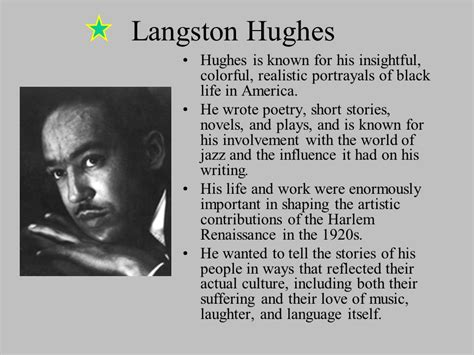 langston hughes biography for students the harlem renaissance of the 1920s ppt video online