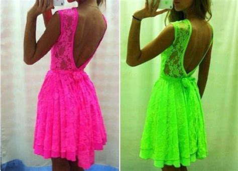 neon colored dresses dress neon color pink neon dress lace dress neon green