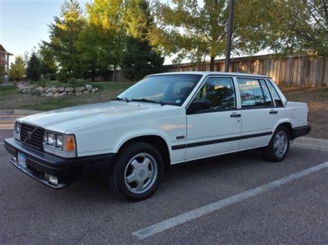 volvo 740 sedan buy used 1987 volvo 740 turbo sedan 4 door manual