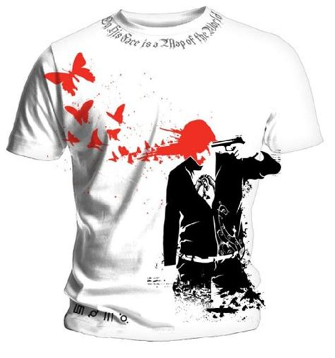 Tshirt 30second To Mars mens 30 seconds to mars butterfly headshot mens t shirt