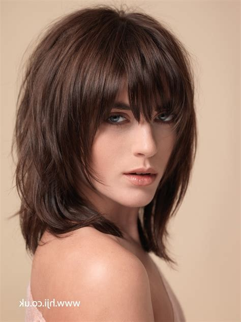 shaggy layered medium length hairstyles from the 1970s short choppy haircuts image male models picture