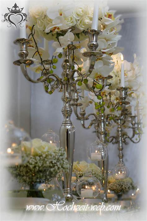 Dekoartikel Günstig Hochzeit by Hochzeitsdekoration Kerzenleuchter Kerzenst 228 Nder Silber