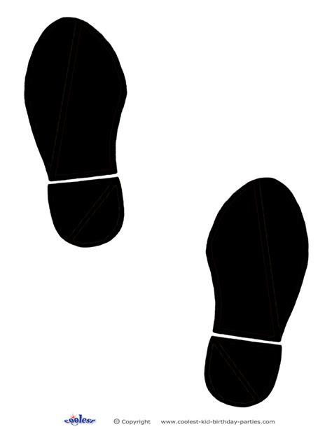 printable elf footprints printable black footprints coolest free printables vbs