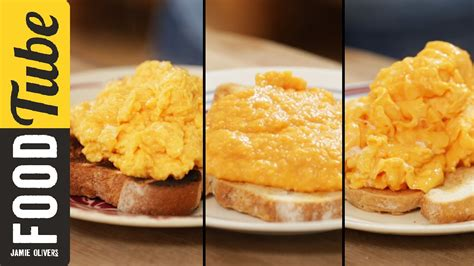 how to make really good scrambled eggs how to make perfect scrambled eggs 3 ways jamie oliver