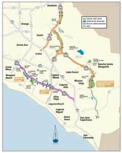 california toll roads map environmental commitment the toll roads