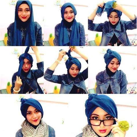 tutorial hijab turban kombinasi hijab tutorial hijablogger ms hijablogger s