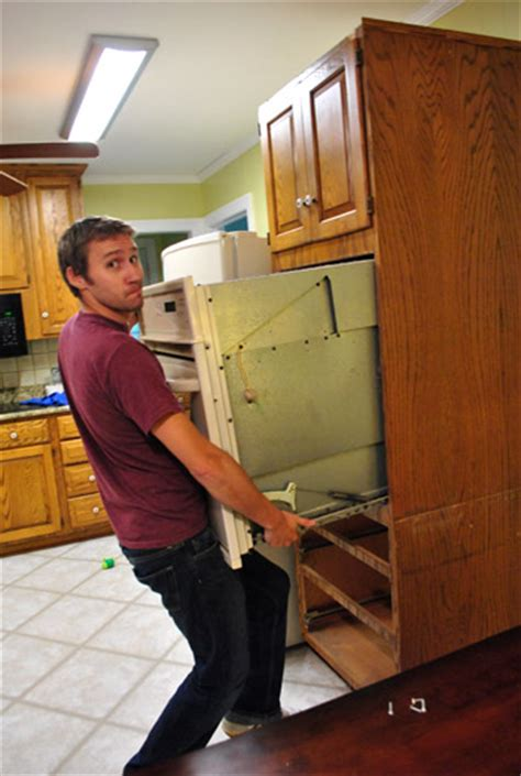 Moving Cabinets Around & Removing Granite Counters   Young