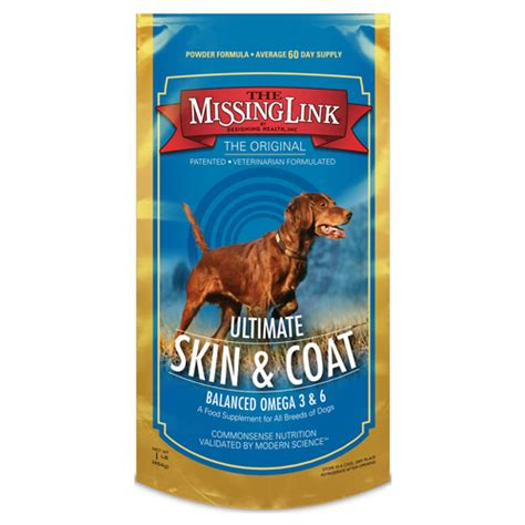 puppy supplements the missing link ultimate skin coat supplement 1 lb naturalpetwarehouse