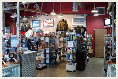 christmas shopping at the museum gift shope in richmond virginia planes of fame gift shop
