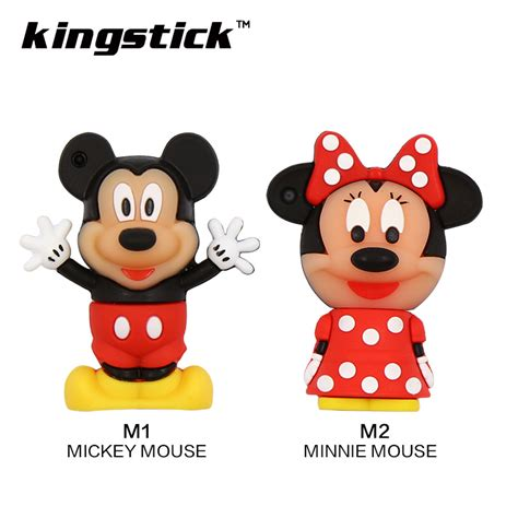 Flashdisk Tangan Mickey Mouse 32gb minnie mickey mouse memory stick pen drive 8gb pendrives 32gb usb flash drive 16gb