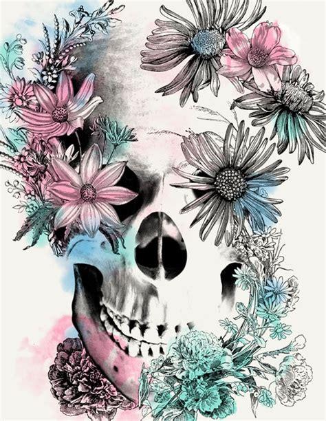 Flower Skull 1000 ideas about skull on