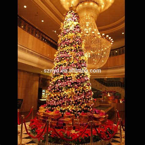 large decorations large artificial lighted indoor tree decoration