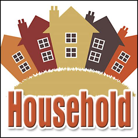 household definition what is
