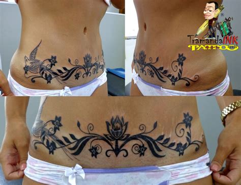 cover up abdominoplasty tatuagem com tatuagens tattoo