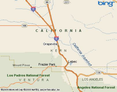 california map grapevine grapevine california