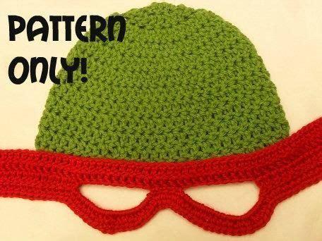 free pattern crochet ninja turtle hat crocheting teenage mutant ninja turtles crochet hat i
