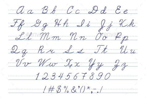 9 fancy cursive letters free premium templates