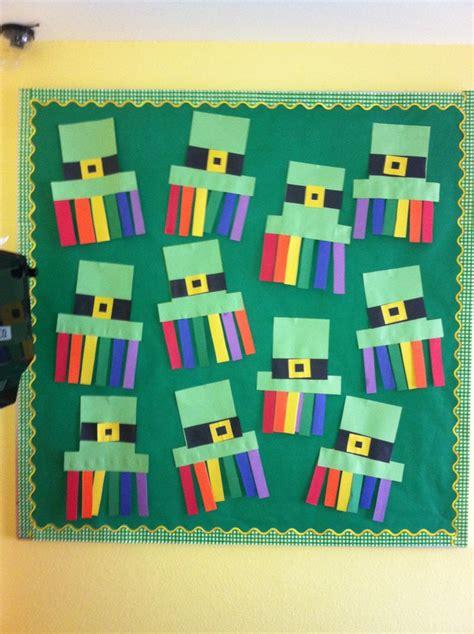kindergarten themes march my preschool march st patricksday bulletin board