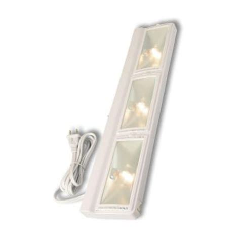 Westek 24 In Halogen White Plug In Cabinet Light Uc230hb Cabinet Halogen Lights