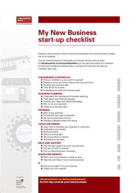 business startup checklist template business startup checklist template 28 images small
