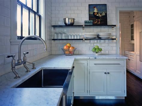 kitchen without cabinets 15 design ideas for kitchens without upper cabinets