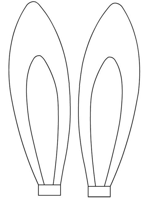 bunny ears coloring pages desenho de orelhas de coelho para colorir tudodesenhos